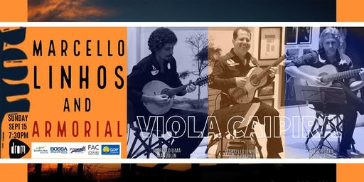 """Marcello Linhos e Armorial """"Viola Caipira"""""""