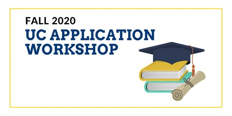 UC Fall 2020 Application Workshop tickets