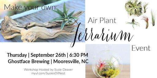 DIY Air Plant Terrarium @ Ghostface Brewing