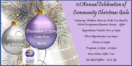 UBCC 1st Annual Community Christmas Gala tickets