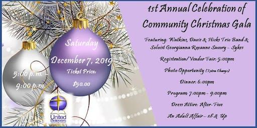 UBCC 1st Annual Community Christmas Gala