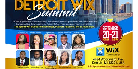 Detroit Wix Summit tickets