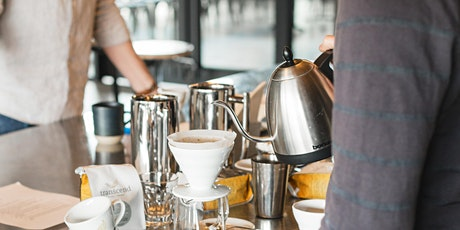 Pour Over Brewing Workshop | Transcend Coffee and Roastery tickets