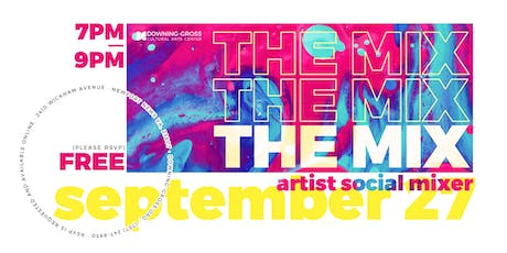 The Mix - Social Mixer for Artists tickets
