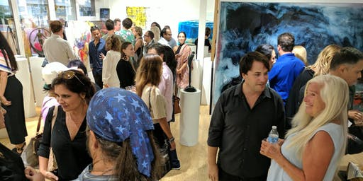 1st Thursdays Laguna Beach Art Walk September 5 2019 (6-9PM)