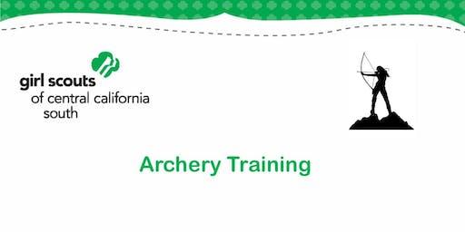 Archery Training - Kern