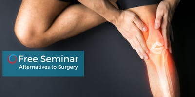 Alternatives to Surgery: Stay Active & Improve Function Oct 8