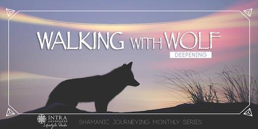 Walking With Wolf Deepening | Candlelight Deepening Shamanic Journeying