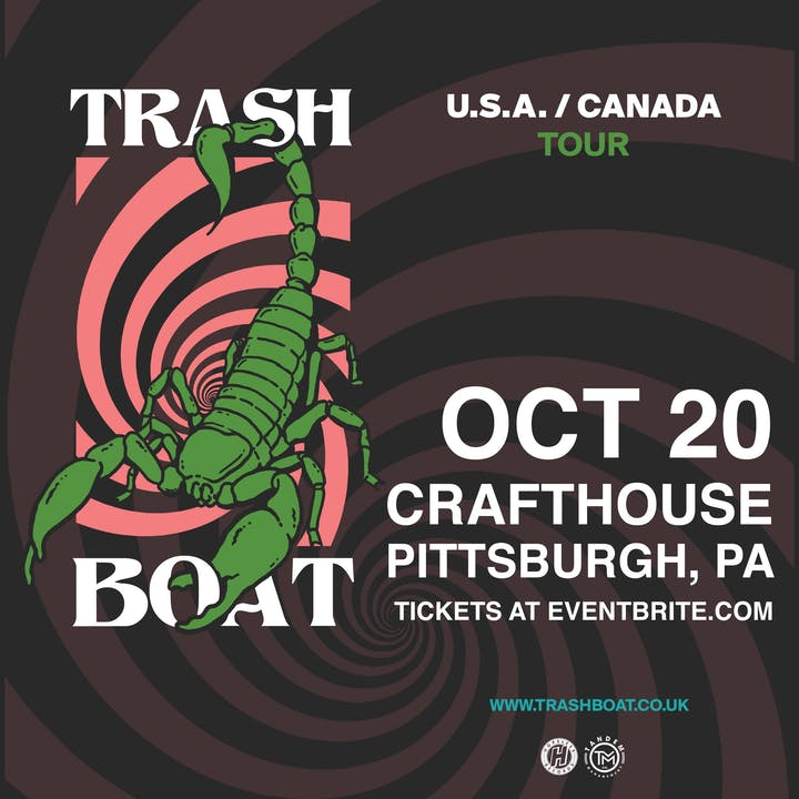Trash Boat – Tickets – Crafthouse Stage & Grill – Pittsburgh