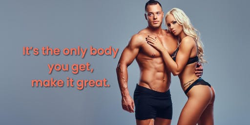 It's the only body you get, make it great- Emsculpt Event