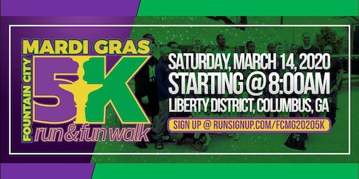 Mardi Gras 5K Run & Fun Walk