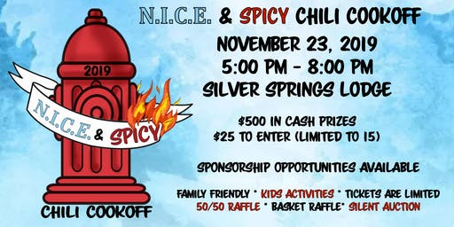 NICE & Spicy Chili Cook-off