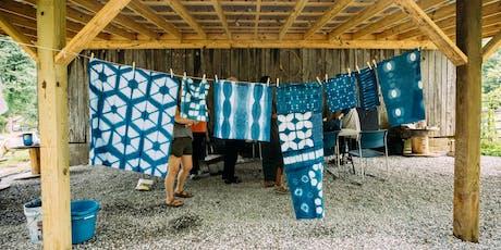 Fabric Workshop - Exploring Indigo & Shibori tickets