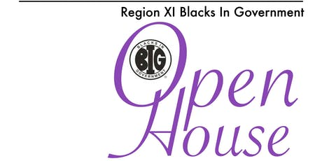 Blacks In Government Region XI - Open House & New Member Orientation - September 2019 tickets