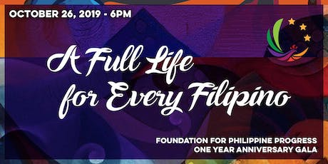 A Full Life for Every Filipino: FPP One Year Anniversary Gala tickets