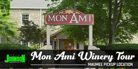 Team Johnson Mon Ami Winery Tour tickets