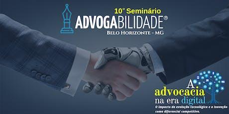 10º Seminário Advogabilidade | Belo Horizonte - MG ingressos
