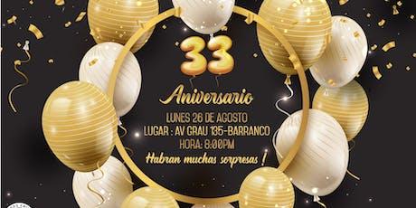 Feliz Aniversario entradas
