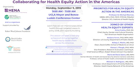 Collaborating for Health Equity Action in the Americas  tickets