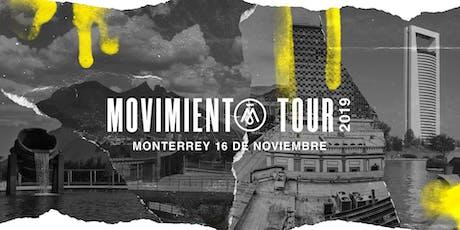 Movimiento Tour Monterrey boletos