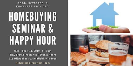 Homebuyer Seminar & Happy Hour