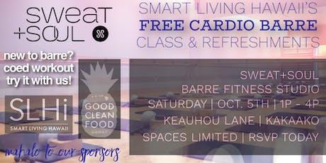 FREE SLHi Barre Class & Refreshments tickets