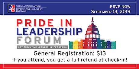 Key Executive Pride in Leadership Forum tickets
