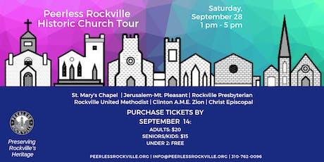 Historic Church Tour tickets