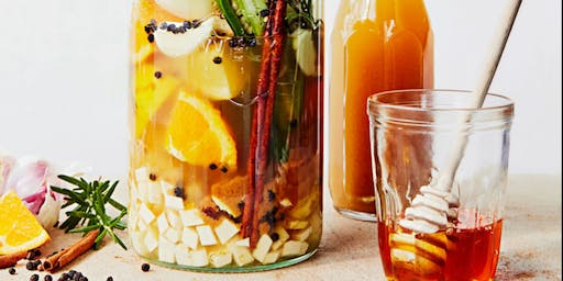 Making Herbal Fire Tonic for Winter Wellness