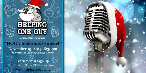 "On November 19 at 6:30 PM: ""HOG Christmas Concert"""