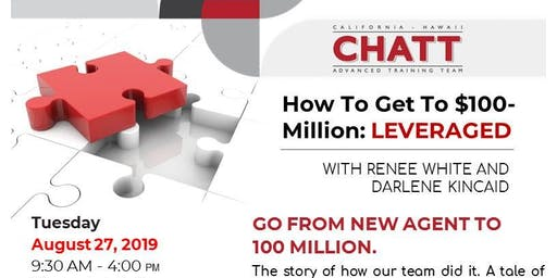 How to Get to $100 Million: Leveraged With Renee White & Darlene Kincaid