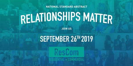 National Standard Abstract's ResCom 2019 Fall Social tickets