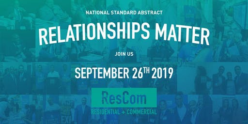 National Standard Abstract's ResCom 2019 Fall Social