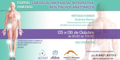 Curso de Liberação Miofascial Integrativa Método Kisner 21ª ed - Salvador - BA