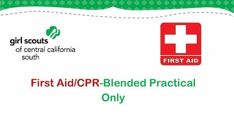 First Aid/CPR - Blended Practical Only - Kern tickets