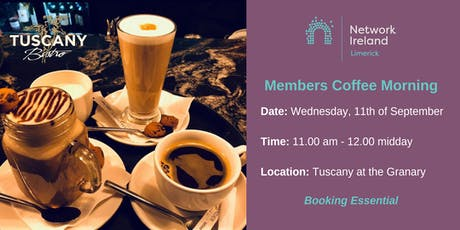 Network Ireland Limerick - September Coffee Morning tickets