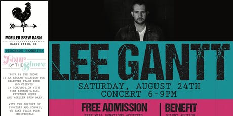 Lee Gantt at Moeller Brew Barn Benefitting Four by the Shore tickets