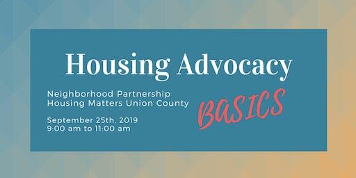 Housing Advocacy Basics