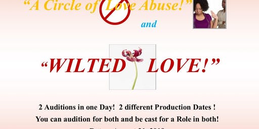 Audition for Two Theatrical Productions