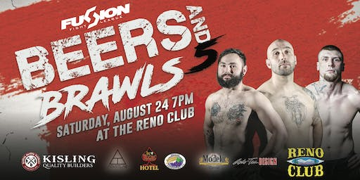Fusion Fight League presents: Beers & Brawls 5