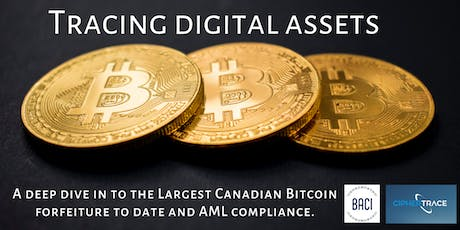 Tracing digital assets for AML compliance tickets