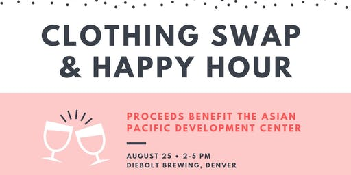 Clothing Swap & Happy Hour for a Cause