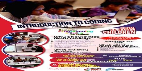 Introduction to Coding for Children tickets