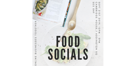 Food Socials tickets