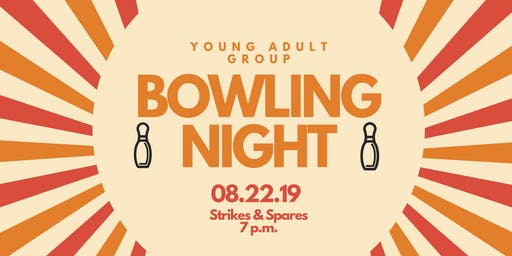 Young Adult Group Bowling Night