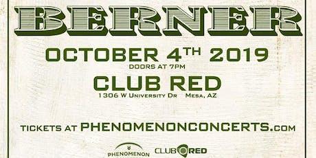 Berner - El Chivo Tour tickets