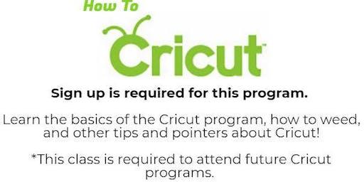 How To Cricut Class