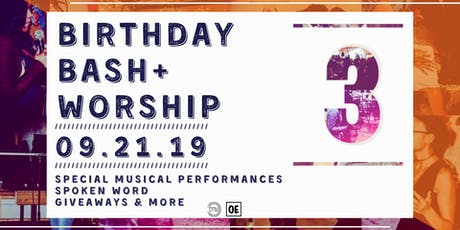 Birthday Bash + Worship tickets