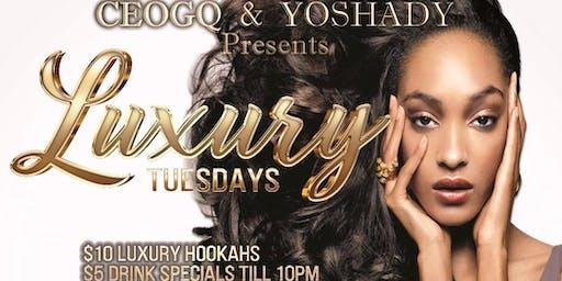 Luxury Tuesdays R O O F T O P  S E A S O N | After Work & Night Time Vybez