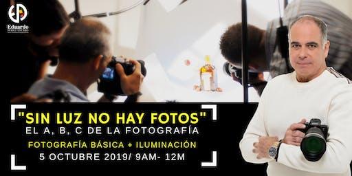 """""""Sin luz no hay foto"""": el A, B, C de la fotografía"""